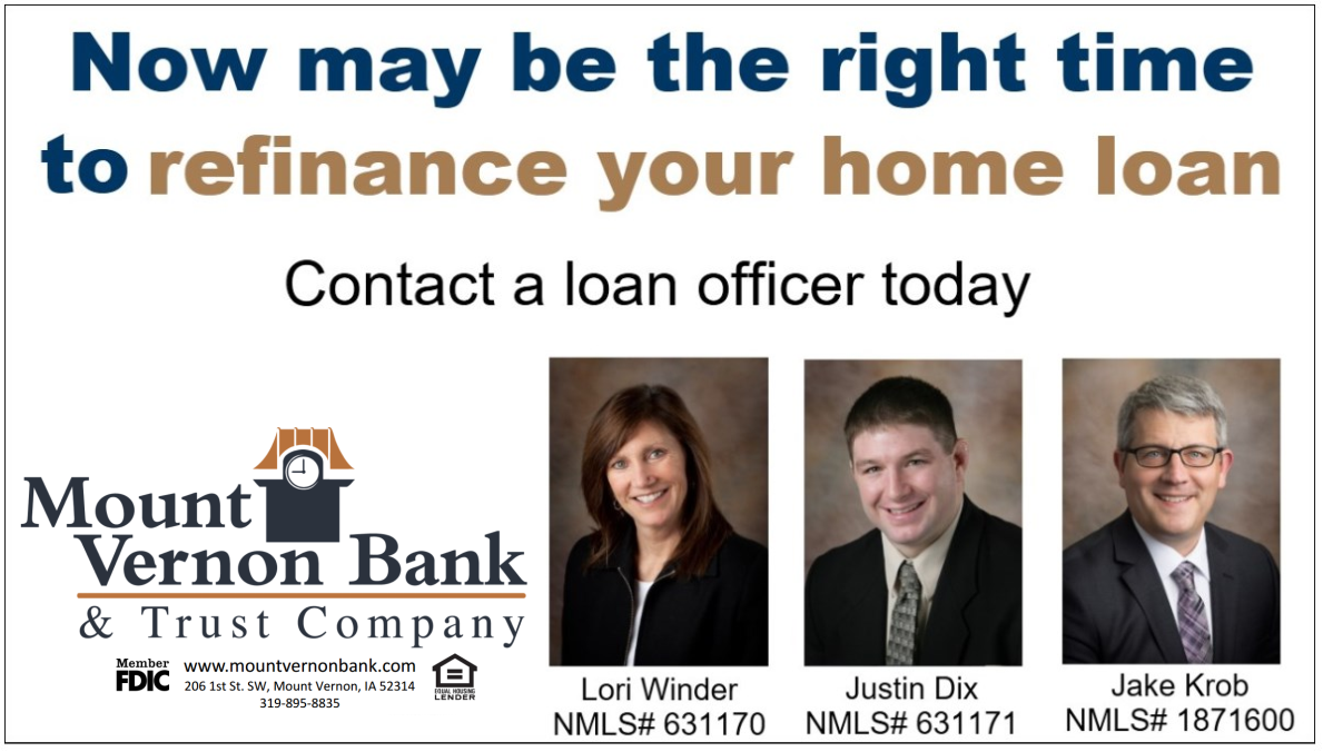 Consider refinancing Aug 2019