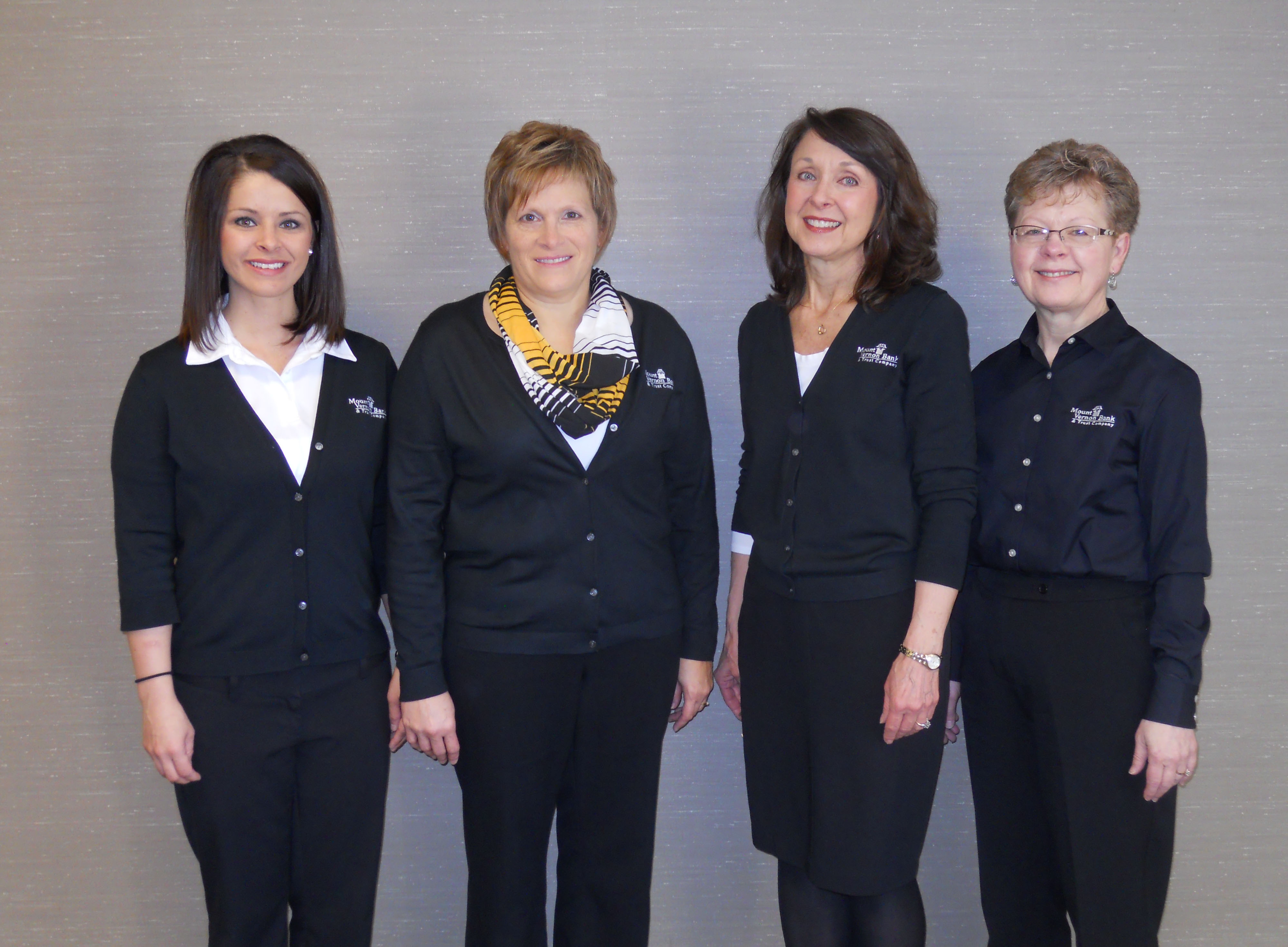 Loan Administration: Amber Fields, Tammy Bohr,Sue Lacy,  Debbie Hughes