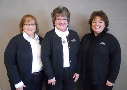 Bookkeepers: Mary Thomsen, Kimberly Palmer, Sheri Russell