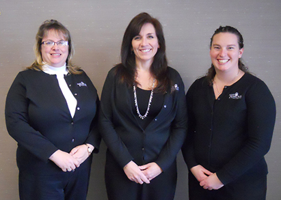 Customer Service Representatives: Sonia Redmond, Deb Dever, Jill Byers